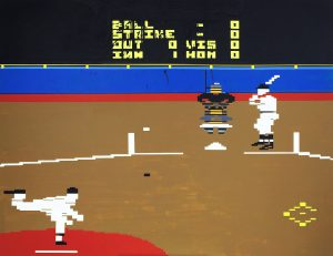 19_Pete Rose Baseball, acrylic on canvas, 140 x 180 cm, 2009